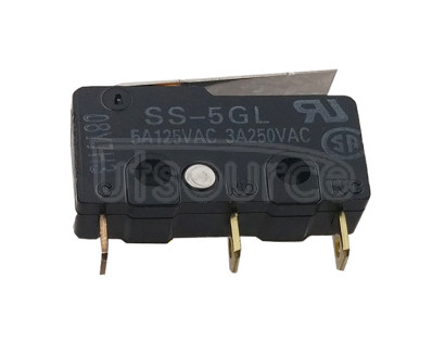 Supply original micro switch small stroke limit switch 3 pin SS5GL with handle swing rod 5A Supply original micro switch small stroke limit switch 3 pin SS5GL with handle swing rod 5A