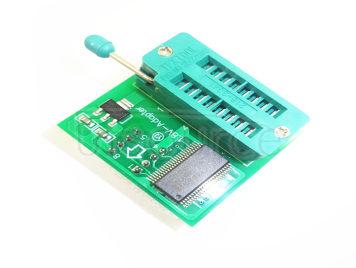 1.8V converter seat SPI Flash memory SOP8 DIP8 converter plate motherboard MX25 W25 1.8V converter board