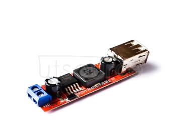 Dual USB output 9V/12V/24V/36V rotation 5VDCDC vehicle-mounted charging 3A step-down voltage stabilizer module (H6A3)