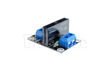 A03B 1 channel 5V low level solid state relay module with fuse solid state relay 250V2A