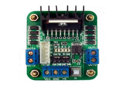 L298 original chip motor driver plate/stepper motor, DC motor driver L298N single chip microcomputer L298 original chip motor driver plate/stepper motor, DC motor driver L298N single chip microcomputer