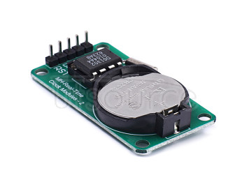 Module DS1302 real-time clock module with battery CR power off travel time