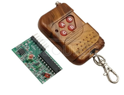 2262/2272 Four-way security accessories M4 non-lock receiving board feed remote control board wireless remote control 2262/2272 Four-way security accessories M4 non-lock receiving board feed remote control board wireless remote control