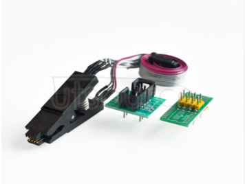 SPI BIOS FLASH demon-free test burn clip SOP8 24C 93C 25LF online programming download To report The purchase of this product belongs to commercial trade