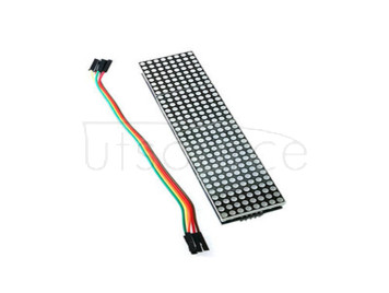 MAX7219 Lattice Module Control Single chip Microcomputer Module 4 in one Display feed 5P line (H6A4)