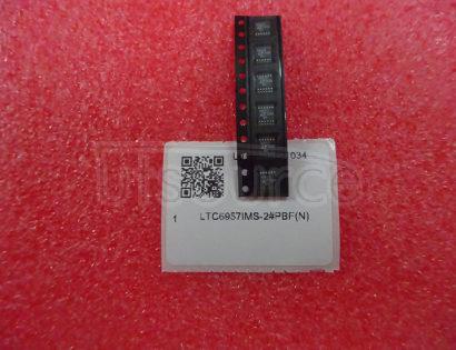"LTC6957IMS-2#PBF Clock Fanout Buffer (Distribution) IC 1:2 300MHz 12-TSSOP (0.118"", 3.00mm Width)"