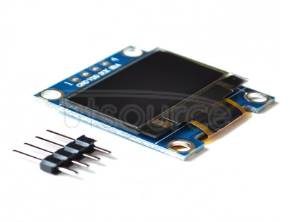 96-inch yellow and blue two-color blue and white IIC communication SMALL OLED display module 51 MCU 96-inch yellow and blue two-color blue and white IIC communication SMALL OLED display module 51 MCU