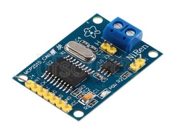 MCP2515 CAN bus module TJA1050 receiver SPI protocol 51 MCU program routines