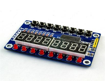 TM1638 digital LED display module (8-bit digital \LED\ button) electronic module TM1638 digital LED display module (8-bit digital \LED\ button) electronic module