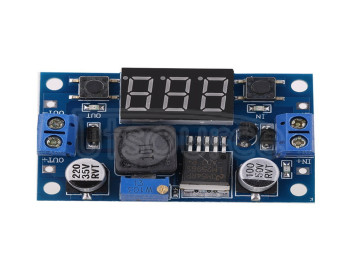 Digital display module LM2596S high-power step-down module DC-DC adjustable voltage power module with digital display