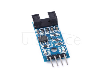 Speed sensor module counter module motor test module Slot optocoupler module