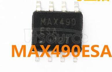 MAX490ESA+T IC TXRX RS485/RS422 8-SOIC MAXIM 2.5K/ROLL