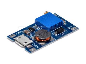 Dc-dc boost module 2A boost plate width pressure input 2/24V litre 5/9/12/28V adjustable 2577