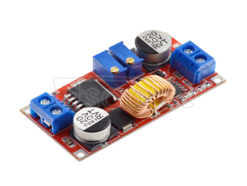 Constant-current constant-voltage large-current 5A lithium-ion battery charging LED drives the step-down constant-current power supply module