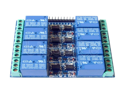8-channel 5V 10A optocoupler isolated relay module 8-channel 5V 10A optocoupler isolated relay module