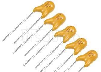 Plug-in tantalum capacitor  22UF  16V