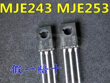 MJE243 MJE253 A PAIR