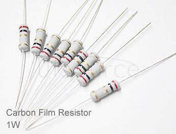 (20pcs) DIP Carbon Film Resistor 5% 1W 10Ω(10R)
