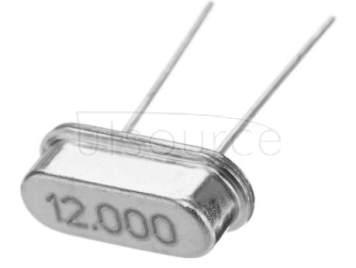 crystals HC-49S  12MHZ  (10pcs)