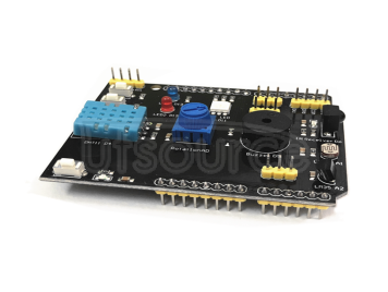 9 in 1 multifunctional expansion board DHT11 temperature and humidity LM35 temperature buzzer compatible with UNO