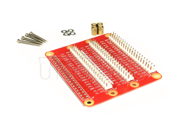 Compatible with Raspberry PI 2/3 generation one turn three GPIO extension plate bread plate DIY experiment screw