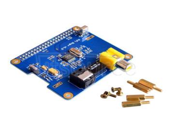Compatible with Raspberry Pi 3/2 for HIFI DiGi+ digital sound card I2S SPDIF