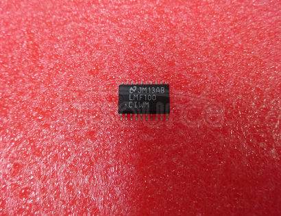 LMF100CIWM High Performance Dual Switched Capacitor Filter