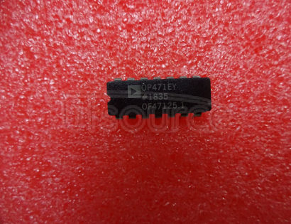 OP471EY High Speed, Low Noise Quad Operational Amplifier