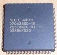 D70433GD-16 V55PITM 16-BIT MICROPROCESSOR