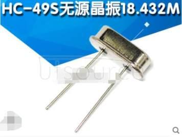 crystals HC-49S  18.432M (10pcs)
