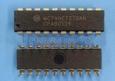 MC74HCT273AN IC FF D-TYPE SNGL 8BIT 20DIP
