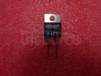 KSD-01F H45 45°C Normally Open Temperature Control Switch Thermostats