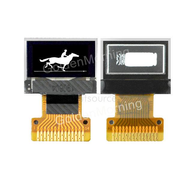 GoldenMorning 64x32 Resolution IIC Interface White 0.49 inch Micro Display Digital OLED Screen