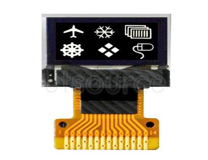 GoldenMorning 64x32 Resolution IIC Interface White 0.49 inch Micro Display Digital OLED Screen GoldenMorning 64x32 Resolution IIC Interface White 0.49 inch Micro Display Digital OLED Screen
