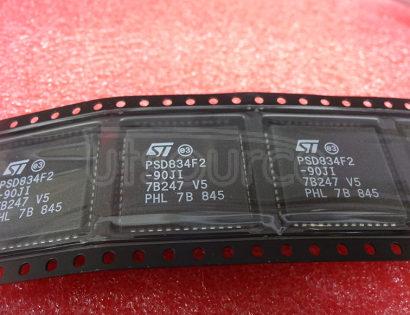 PSD834F2-90JI Flash In-System Programmable ISP Peripherals For 8-bit MCUs