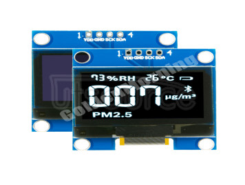 GoldenMorning 128x64 IIC/I2C Interface 4P IC SSD1315 1.3 Inch White Module 1.3inch Oled