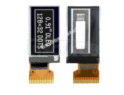 """Mono Color Screen IIC/SPI SSD1306 0.91 Inch Module Display 128x32 Oled 0.91 Mono Color Screen IIC/SPI SSD1315/SSD1306 0.91"""" Inch Module Display 128x32 Oled 0.91"""
