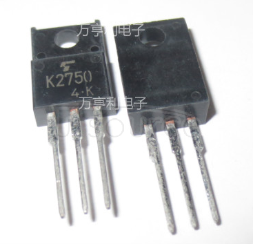 K2750 N  CHANNEL   MOS   TYPE   (HIGH   SPEED,   HIGH   VOLTAGE   SWITCHING,   CHOPPER   REGULATOR,   DC-DC   CONVERTER   AND   MOTOR   DRIVE   APPLICATIONS)