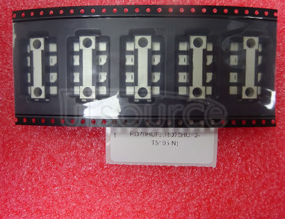 RD70HUF2,RD70HUF2-T5105 Silicon RF Devices RF High Power MOS FETs (Discrete) RD70HUF2 Remarks RoHS : Restriction of the use of certain Hazardous Substances in Electrical and Electronic Equipment