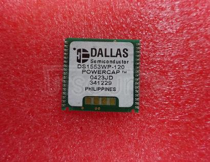 DS1553WP-120+ Real Time Clock (RTC) IC Clock/Calendar 8KB Parallel 34-PowerCap? Module