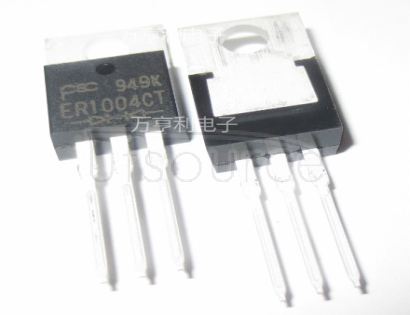 ER1004CT SUPERFAST   RECOVERY   RECTIFIERS(VOLTAGE-  50 to  400   Volts   CURRENT-   10.0   Amperes)