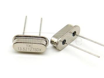 HC-49S 13.52127MHZ 20PF 20PPM X49SD1352127MSD2SC