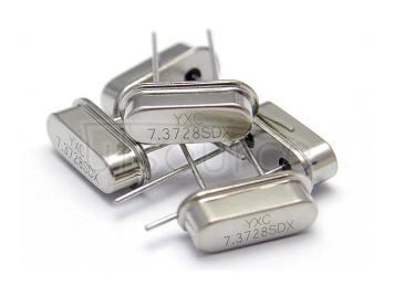 HC-49S Crystal Oscillator 7.3728MHZ 20PF 20PPM X49SD73728MSD2SC-1