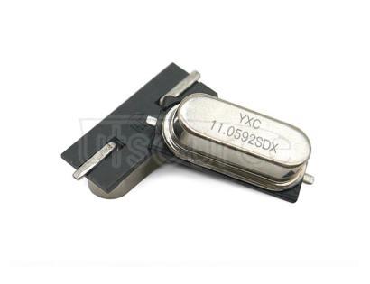 HC-49SMD Crystal Oscillator 11.0592MHZ 20PF 20PPM X49SM110592MSD2SC