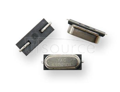 HC-49SMD Crystal Oscillator 4.9152MHZ 20PF 20PPM X49SM49152MSD2SC-1