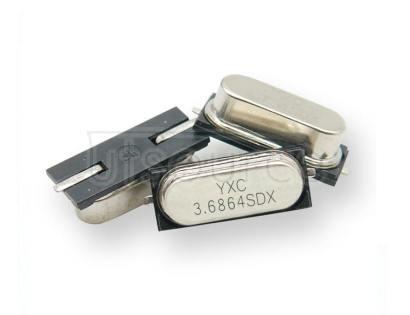HC-49SMD Crystal Oscillator 3.6864MHZ 20PF 20PPM X49SM36864MSD2SC-1