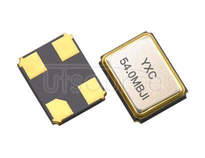 YXC YSX321SL 3.2x2.5mm 54MHZ 10PF 10PPM X322554MMB4SI YSX321SL 3225 54MHZ Crystal Oscillator 10PF 10PPM X322554MMB4SI