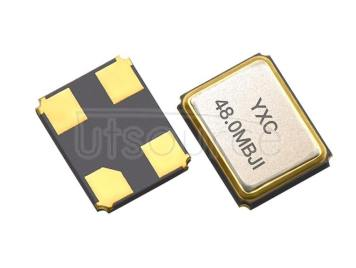 YXC YSX321SL 3.2x2.5mm 48MHZ 20PF 10PPM X322548MSB4SI