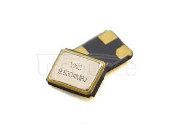 YXC YSX321SL 3.2x2.5mm 9.8304MHZ 12PF 10PPM X322598304MOB4SI-1