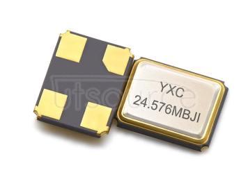 YXC YSX321SL 3.2x2.5mm 24.576MHZ 12PF 10PPM X322524576MOB4SI